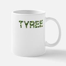 Tyree, Vintage Camo, Small Small Mug