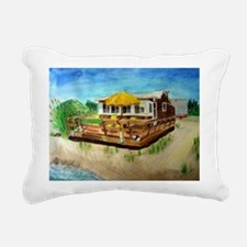Winnies Beachhouse Rectangular Canvas Pillow