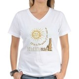 Garden Womens V-Neck T-shirts