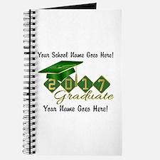 Graduate 2017 Green Gold Journal