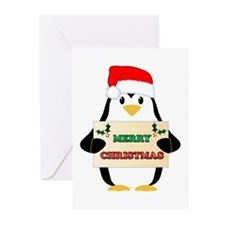 Christmas Penguin Greeting Cards (Pk of 20)