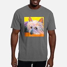 SILKY TERRIER corrected. Mens Comfort Colors Shirt