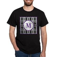 Diamond Purple Monogram T-Shirt