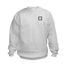 Diamond Purple Monogram Sweatshirt
