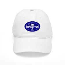 Charleston South Carolina Sticker and Magnet Baseball Cap