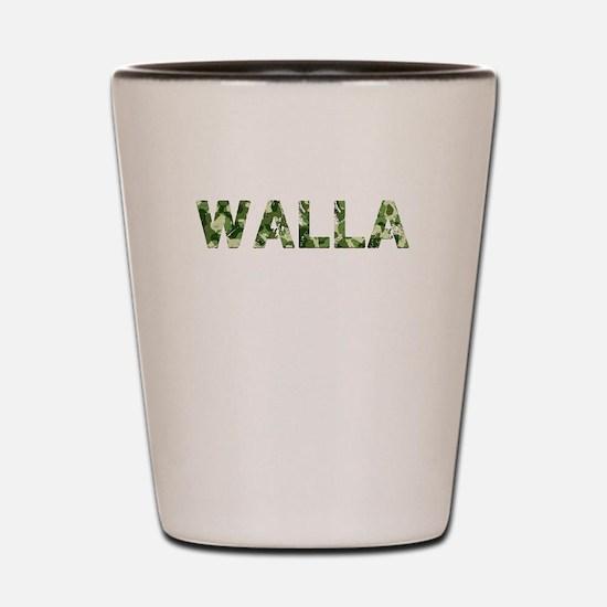 Walla, Vintage Camo, Shot Glass