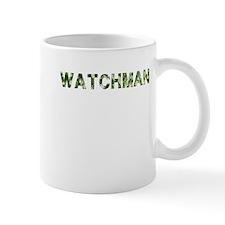 Watchman, Vintage Camo, Mug