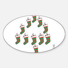 OYOOS Xmas Stocking design Decal