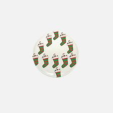 OYOOS Xmas Stocking design Mini Button