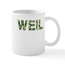 Weil, Vintage Camo, Mug