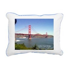 San Fran Golden Gate Bridge Rectangular pillow
