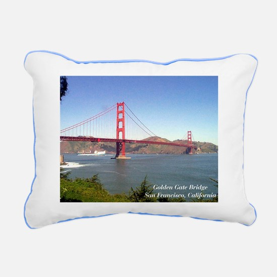 San Fran Golden Gate Bridge Rectangular pillow