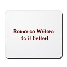 Romance Writer's Mousepad