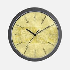 Funny Stage Wall Clock