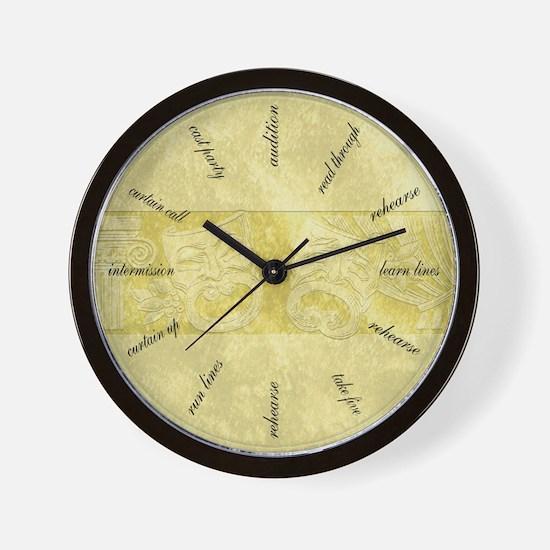 Cute Actor Wall Clock