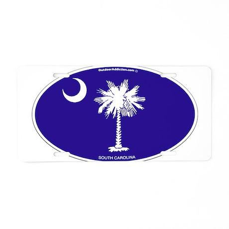 sc_flag.png Aluminum License Plate