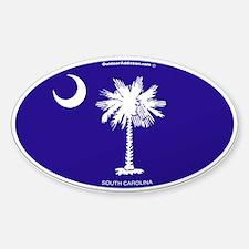 South Carolina State Flag Decal