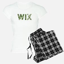 Wix, Vintage Camo, Pajamas