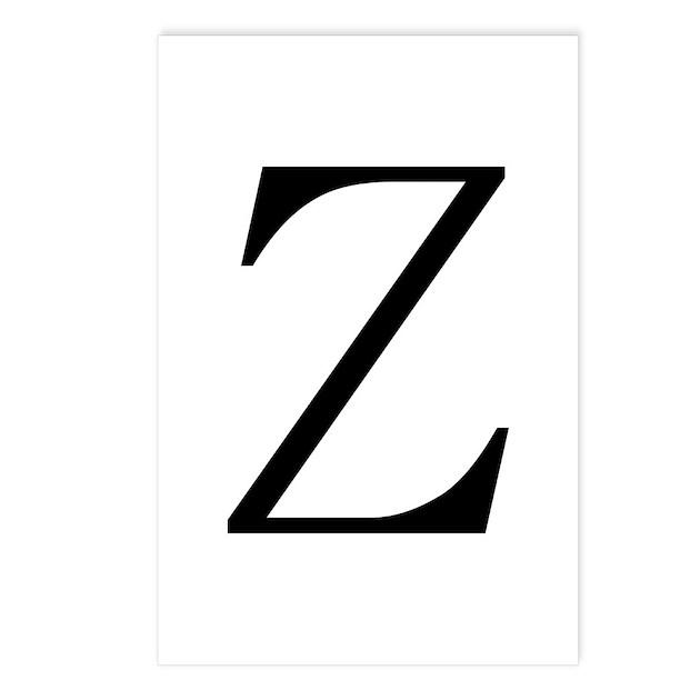 Greek Character Zeta Postcards (Package of 8) by
