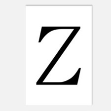 Greek Character Zeta Postcards (Package of 8)