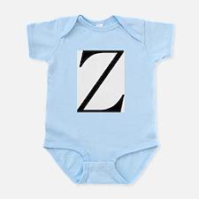 Greek Character Zeta Infant Bodysuit