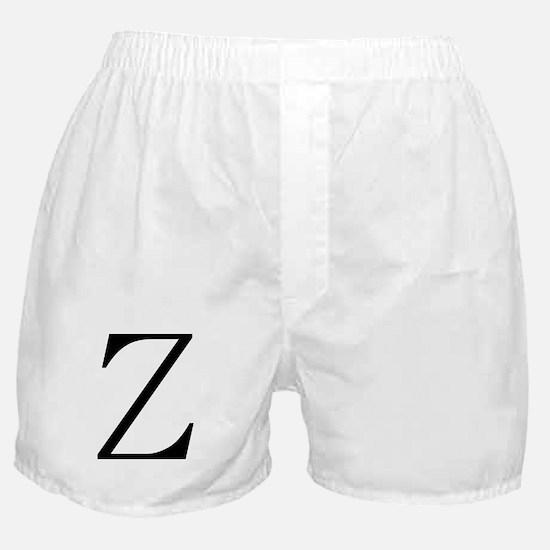 Greek Character Zeta Boxer Shorts
