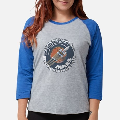 Orion Spacecraft 2 Womens Baseball Tee