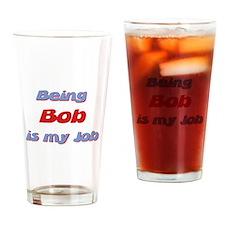 Cute Bob Drinking Glass