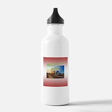 Truckin' on Home Water Bottle