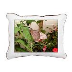 Butterfly Rectangular Canvas Pillow