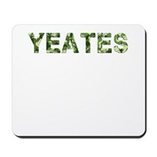 Yeates, Vintage Camo, Mousepad