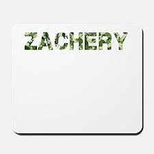 Zachery, Vintage Camo, Mousepad