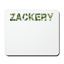 Zackery, Vintage Camo, Mousepad