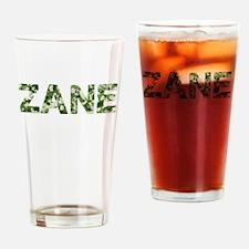 Zane, Vintage Camo, Drinking Glass