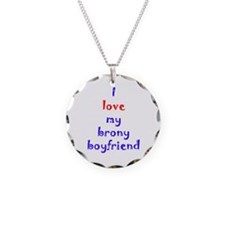 Brony Boyfriend Necklace Circle Charm