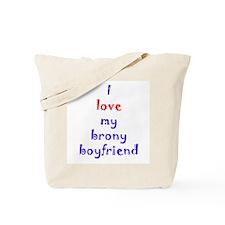 Brony Boyfriend Tote Bag