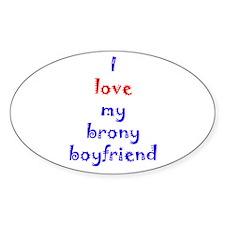 Brony Boyfriend Decal