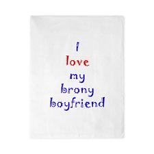 Brony Boyfriend Twin Duvet