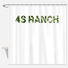 4S Ranch, Vintage Camo, Shower Curtain