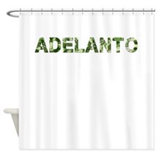 Adelanto, Vintage Camo, Shower Curtain