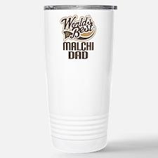 Malchi Dog Dad Travel Mug