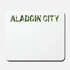Aladdin City, Vintage Camo, Mousepad