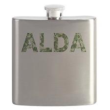 Alda, Vintage Camo, Flask