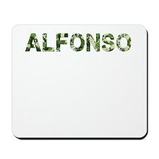 Alfonso, Vintage Camo, Mousepad