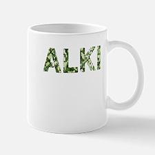 Alki, Vintage Camo, Mug