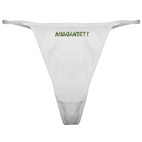 Amagansett, Vintage Camo, Classic Thong