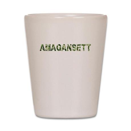 Amagansett, Vintage Camo, Shot Glass