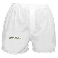 Amarillo, Vintage Camo, Boxer Shorts