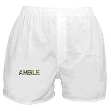 Amble, Vintage Camo, Boxer Shorts