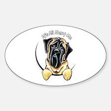 Mastiff IAAM Sticker (Oval)